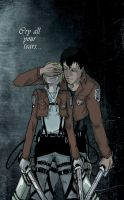 Cry all you tears - SnK by EriKooriKo