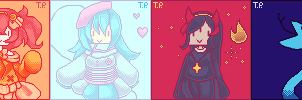 Pixel Pallete (Batch 1) by TeenaPai