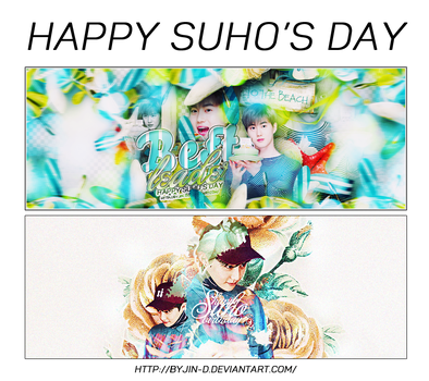 //22052017// Happy Suho's Day by BYjin-D