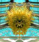 The Lion's Mane Kew Temperate House Chihuli Glass by aegiandyad