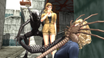 METAL GEAR MGS PW CECILE and PAZ ALIEN INFESTATION by FRANKASTER1987