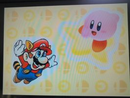 Mario And Kirby Fliying togheter by PuccadomiNyo