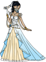 Event III OC Ayla: Her first Masquerade by WhiteQueen94