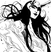 Lady Loki by HarvesterOfDreams