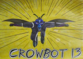 Code Blue Crowbot 13 by AkiraCat