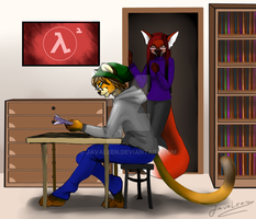 Commission: Evan and Eva by JavaLeen