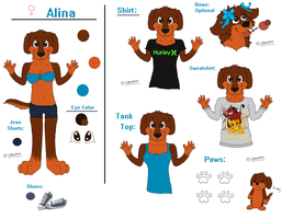 Alina Anthro Reference by Labradoor