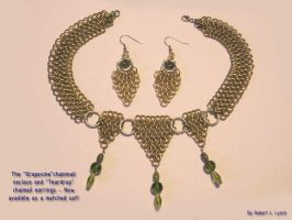 Chainmail Jewelry Set by robertllynch