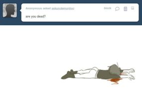 Ask Muds 67- Dead by anniemae04