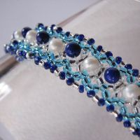 Winter Ice Bracelet by windyriverr