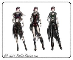 Jane  Cloth-Concept by BaLLz-Graphics