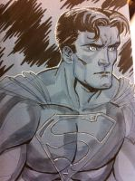Superman con sketch by thejeremydale