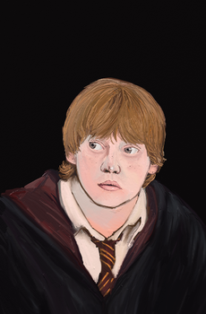 Ron Weasly by SilverOwls