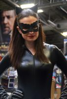 Sexy Catwoman Cosplay at Memorabilia 2012 by masimage