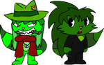CP: Bloody and Milly by GissyXLeoLove