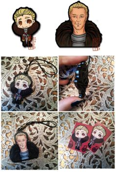 Acrylic Cullen Charms and Stickers by skart2005