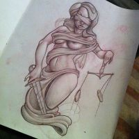 lady justice by michaelbrito