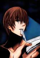 DEATH NOTE - Yagami Light by mickytaka558