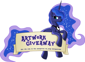 Doing an Awesome Art Giveaway by LadyBelva