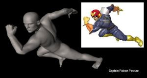 Captain Falcon Pose by ChozoBoy