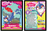 Rampage Trading Card by RinMitzuki