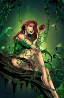 Poison ivy by jadecks