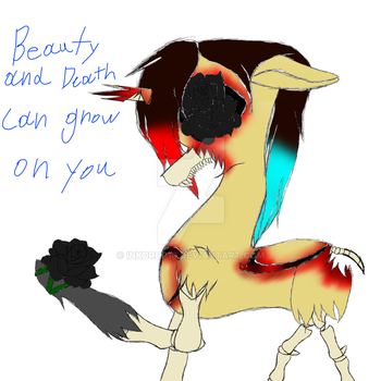 Beauty and Death can grow on you by Inkdrop10