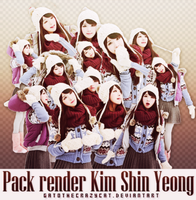 kim shin yeong pack renders by gatothecrazycat