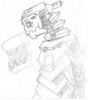 205/365 Robot by Immortally--Twined