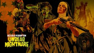 RDR: Undead Nightmare wall by mattsimmo