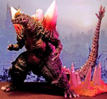 Monster Arts - Space Godzilla 05 by twohand