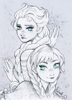 . 161 - The sisters of Arendelle . by Amelion
