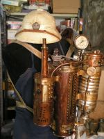 the incinerator by Steampunk-Italia