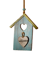Wall Decoration little House by SpellpearlArts