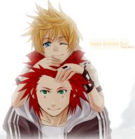 KH2- Akuroku for Sou by meru-chan