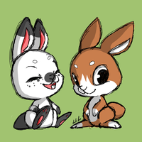 bunnies by Tsumugi-Chan