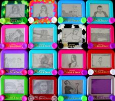 Pocket EtchaSketch Collection by bryanetch