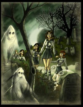 GhostsintheGraveyard by ChadGrimm