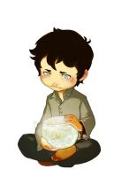 Future Cas and Goldfish by JoannaJohnen