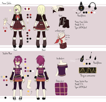 UTAU: Double concept art by NamieyXcarletLaytis
