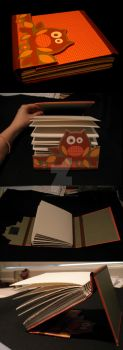 Owl Book by Pepper-Dragon