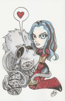 Illyria and Pancakes by AmberStoneArt