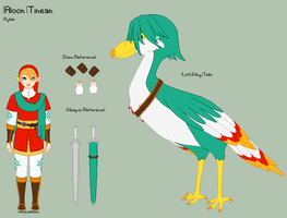 LoZ - Aloon Reference Sheet by porcelian-doll