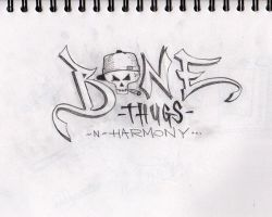 Bone Thugs-N-Harmony by Derby19