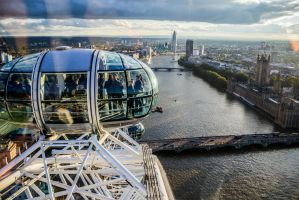 View from the top! London Eye! by jay4everuk
