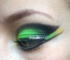 Black on Neon by ColourByMakeup