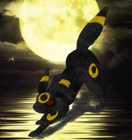 Umbreon by Jekkana