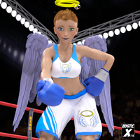 Boxing angel Trina - Let me help you up by mysticx1