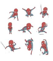 'Little' Spidey by darrenrawlings