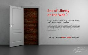Stop SOPA and PIPA by LMA-Design